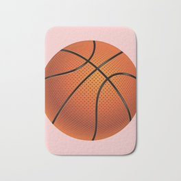 Basketball Ball Bath Mat