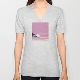 Seagull of morning Unisex V-Neck