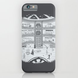 Darth Mall iPhone Case