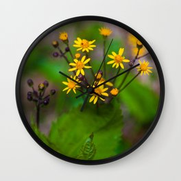 Wildflowers In Shenandoah National Park Wall Clock