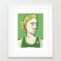 larry Framed Art Prints featuring Larry by Lawerta