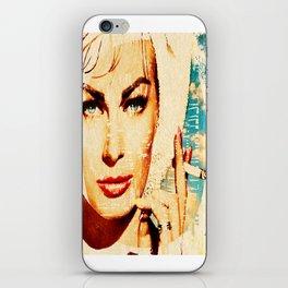 anita ekberg 2015 iPhone Skin