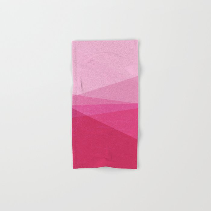 Stripe XI Cotton Candy Hand & Bath Towel