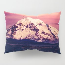 Mt Hood Mountain with Snow Pillow Sham