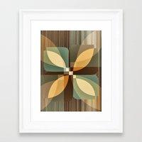 clover Framed Art Prints featuring clover by Julia Tomova