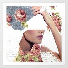 I Am Undone Tonight Art Print