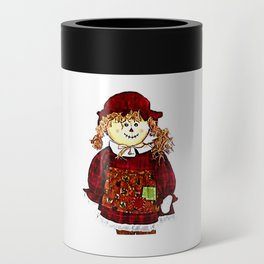 Strawgirl jGibney The MUSEUM Society6 Gifts Can Cooler