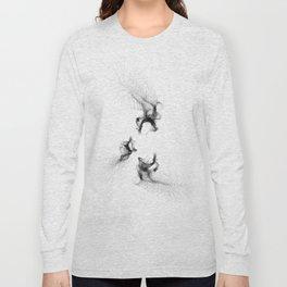 Abstract Water Long Sleeve T-shirt
