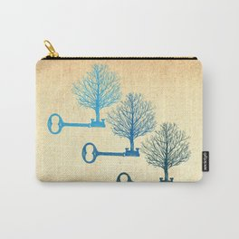 Tree Keys Carry-All Pouch