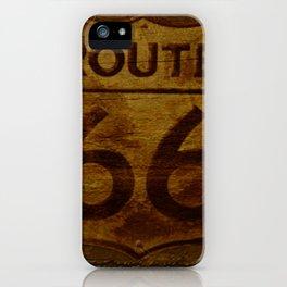 Route 66 iPhone Case