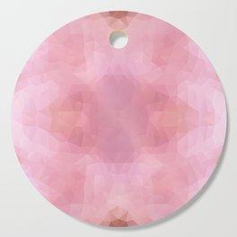 """""""Rose petals"""" triangles design Cutting Board"""