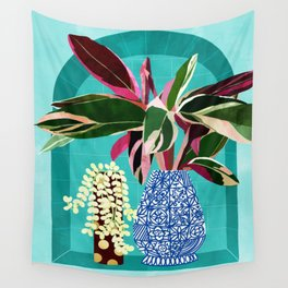 You Can't Buy Happiness But You Can Buy Plants & That's Pretty Much The Same Thing #painting Wall Tapestry
