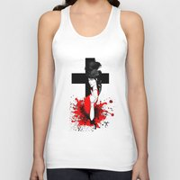 religion Tank Tops featuring BAD RELIGION by Anna d'Ark