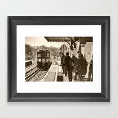 Wareham Commute Framed Art Print