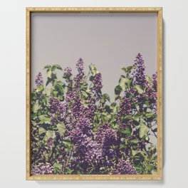 Wild Lilacs Serving Tray