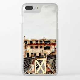 Destination Unknown Clear iPhone Case