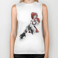 ruby Biker Tanks featuring Ruby by Ivriniel Arts