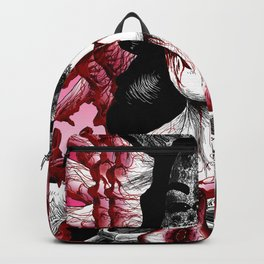 Black Dahlia For Real Backpack