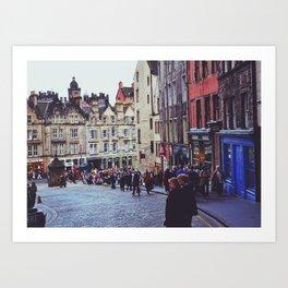 Edinburgh Scotland Art Print