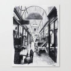 Passage des Panoramas - Paris Canvas Print