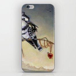 King of Hearts (Bird) iPhone Skin