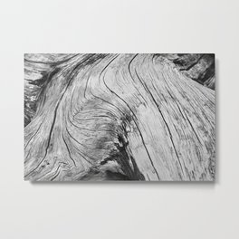 Twisted Driftwood Textures 90 Metal Print