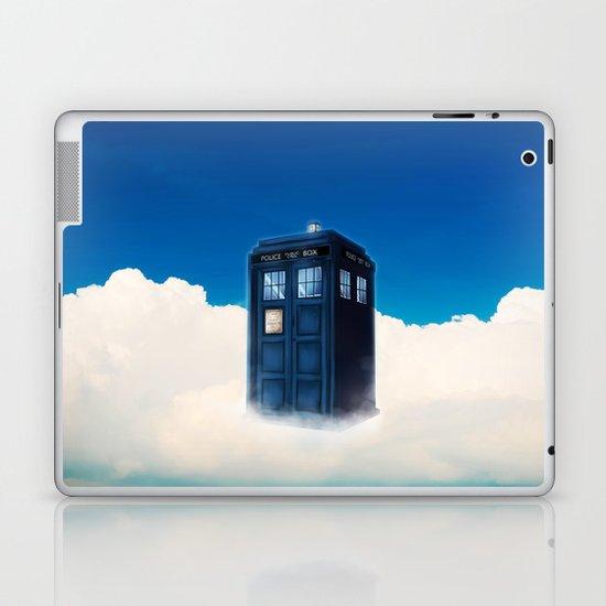 Tardis Cloud Laptop Amp Ipad Skin By Alkanara Society6