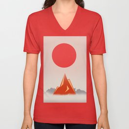 Himalayan zen Unisex V-Neck