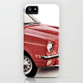 1970's Chevy Vega iPhone Case