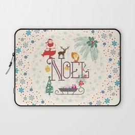 Christmas Noel Laptop Sleeve