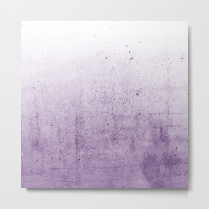 Radiant Orchid Purple Ombre  Metal Print