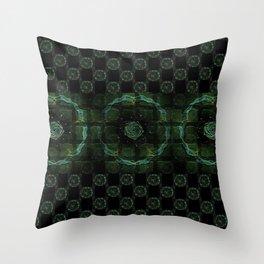Mysic Circles Throw Pillow