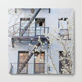 Brooklyn Spring Metal Print