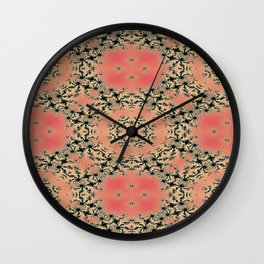 Fractal Dependence Pattern 2 Wall Clock