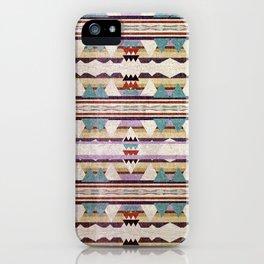 Aztec Mountains iPhone Case