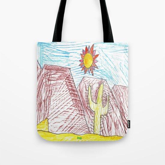 Lonely Cactus Tote Bag