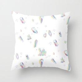 So Many Magical Gems! Throw Pillow