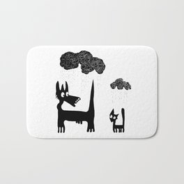 It's Raining Cats and Dogs Bath Mat