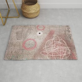 MANMADE SUBJECTS, INCLUDING A BOMBING Rug