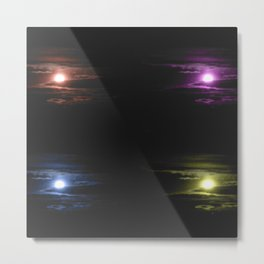 The Colors of the Moon Metal Print