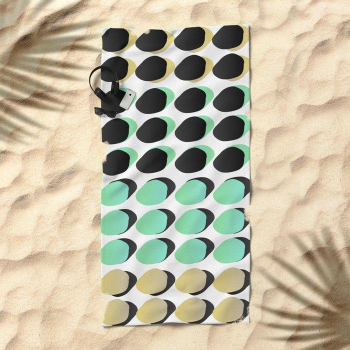 Polka_Dots Beach Towel