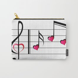 Music love concept Carry-All Pouch