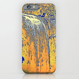 "series waterfall ""Cachoeira Grande"" II iPhone Case"