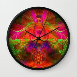 The Easter Queen Wall Clock