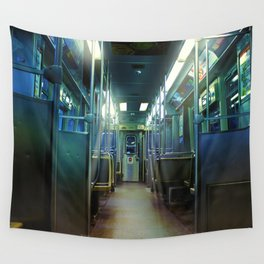 Ghost Train Wall Tapestry