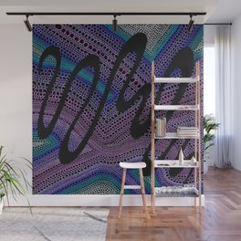Trippy Circle Swirl - Abstract Art Wall Mural