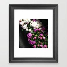 Peonies II Framed Art Print