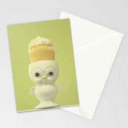 Cupcake Owl Stationery Cards
