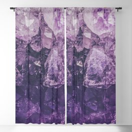 Amethyst Gem Dreams Blackout Curtain