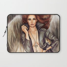 Angel with the key to the bottomless pit Laptop Sleeve